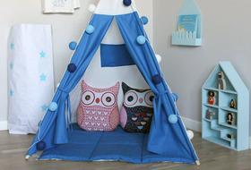 Вигвамы для детей – отличная альтернатива домикам из подушек