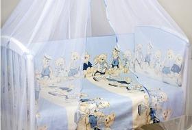 Выбор постельного белья в кроватку