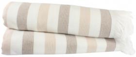 "Махровое полотенце ""STRIPE"", коричневый"