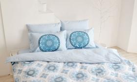 """Комплект постельного белья  """"SILVANA"""", синий"""