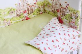 """Комплект белья для новорожденных в кроватку """"Там сняться сказки"""" 3 предмета"""