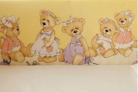 """Комплект белья для новорожденных в кроватку """"В ожидании праздника"""""""