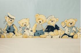 """Комплект белья для новорожденных в кроватку """"Морячки"""""""