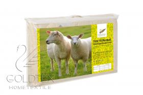 Одеяло LUXE Шерсть овечья/поплин  STANDART