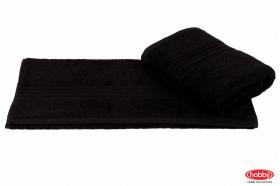 """Махровое полотенце """"RAINBOW"""", черный"""