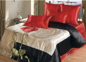 """Комплект постельного белья """"Изабель"""" с европростынью"""