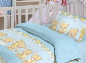 """Комплект постельного белья """"Облачко"""" """"Мишки малышки"""""""