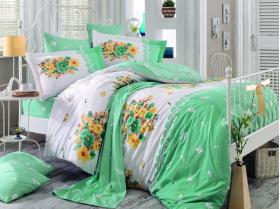 """Комплект постельного белья  """"ALVIS"""", зелёный"""
