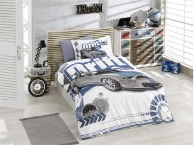 """Комплект постельного белья """"DRIFT"""", синий"""