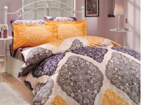 """Комплект постельного белья """"AMANDA"""", фиолетовый"""