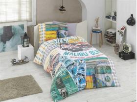 """Комплект постельного белья  """"MALIBU BEACH"""", мульти"""
