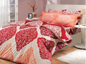 """Комплект постельного белья  """"AMANDA"""", красный"""