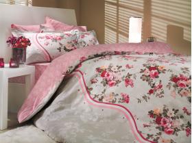 """Комплект постельного белья """"SUSANA"""", розовый"""