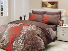 """Комплект постельного белья """"ROYAL"""", коричневый"""