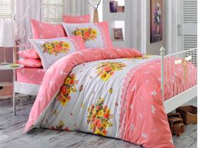 """Комплект постельного белья """"ALVIS"""", персиковый"""