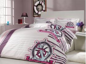 """Комплект постельного белья """"SARANDA"""", лиловый"""