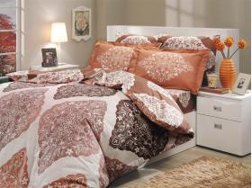 """Комплект постельного белья """"AMANDA"""", коричневый"""