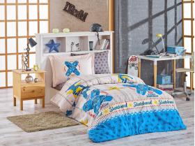 """Комплект постельного белья """"SKATEBOARD"""", синий"""