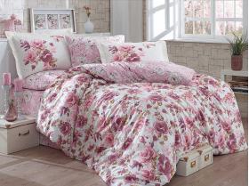 """Комплект постельного белья  """"ALESSIA"""", т.пудра"""