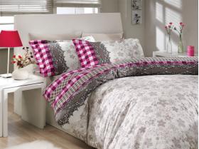 """Комплект постельного белья  """"SERENA"""", фиолетовый"""