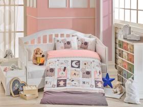 """Комплект постельного белья детское поплин """"SWEET HOME"""", розовый"""