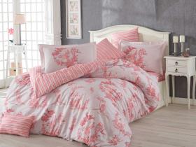 """Комплект постельного белья  """"VANESSA"""", розовый"""