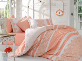 """Комплект постельного белья """"LISA"""", персиковый"""