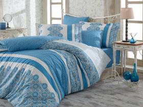 """Комплект постельного белья """"LISA"""", синий"""