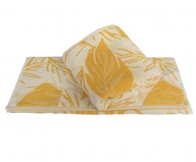 """Махровое полотенце """"AUTUMN"""", жёлтый"""