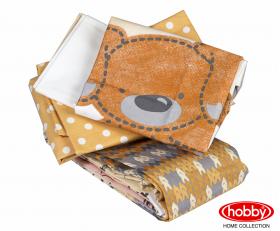 Комплект постельного белья с одеялом детское поплин ''TOMBIK'', жёлтый