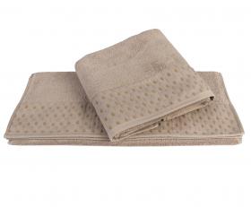 """Махровое полотенце  """"MARSEL"""", коричневый"""