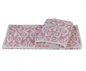 "Махровое полотенце ""VALENSIYA"", розовый"