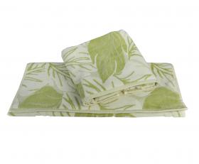 """Махровое полотенце """"AUTUMN"""", зелёный"""