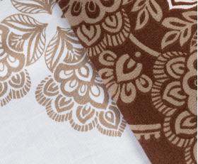 """Комплект постельного белья  """"SILVANA"""", коричневый"""