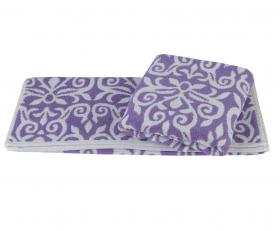 """Махровое полотенце """"VALENSIYA"""", лиловый"""