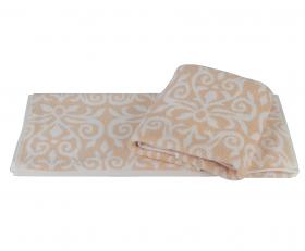 """Махровое полотенце """"VALENCIA"""", персиковые"""