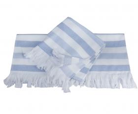 """Махровое полотенце """"STRIPE"""", голубой"""
