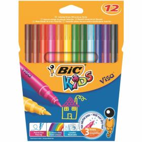 "Фломастеры ""Bic Kids"" для рисования на ткани"