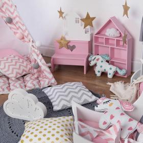 """Детская палатка вигвам """"Pink Zigzag"""""""