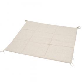 Стеганый игровой коврик из льна