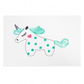 Открытка Mint Unicorn
