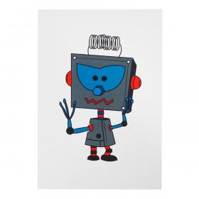 Открытка Robot Teodor