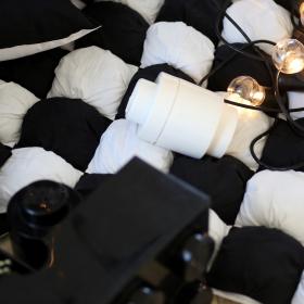 "Игровой коврик Бомбон ""Black&White"""