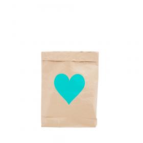 """Эко-мешок для игрушек из крафт бумаги """"Big Heart"""""""