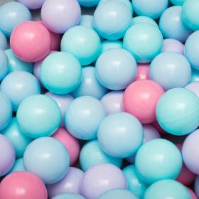 """Сет из 200 шаров для детского сухого бассейна """"Пастель"""""""