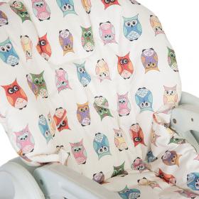 """Съемный чехол """"Funky Owl"""" для стульчика для кормления"""