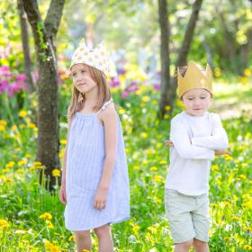 """Детская корона """"Gold"""""""