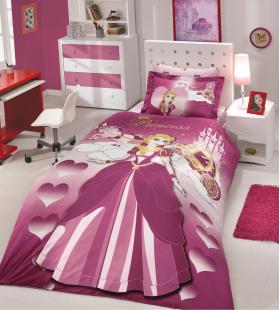 """Комплект постельного белья  """"LADY"""", бордовый"""