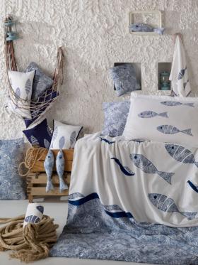 """Комплект постельного белья """"BLUES"""", голубой"""