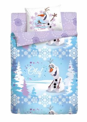 Комплект постельного белья Disney OLAF Зима